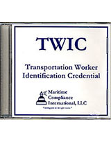 TWIC training and resource dvd